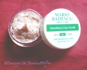 strawberry scrub