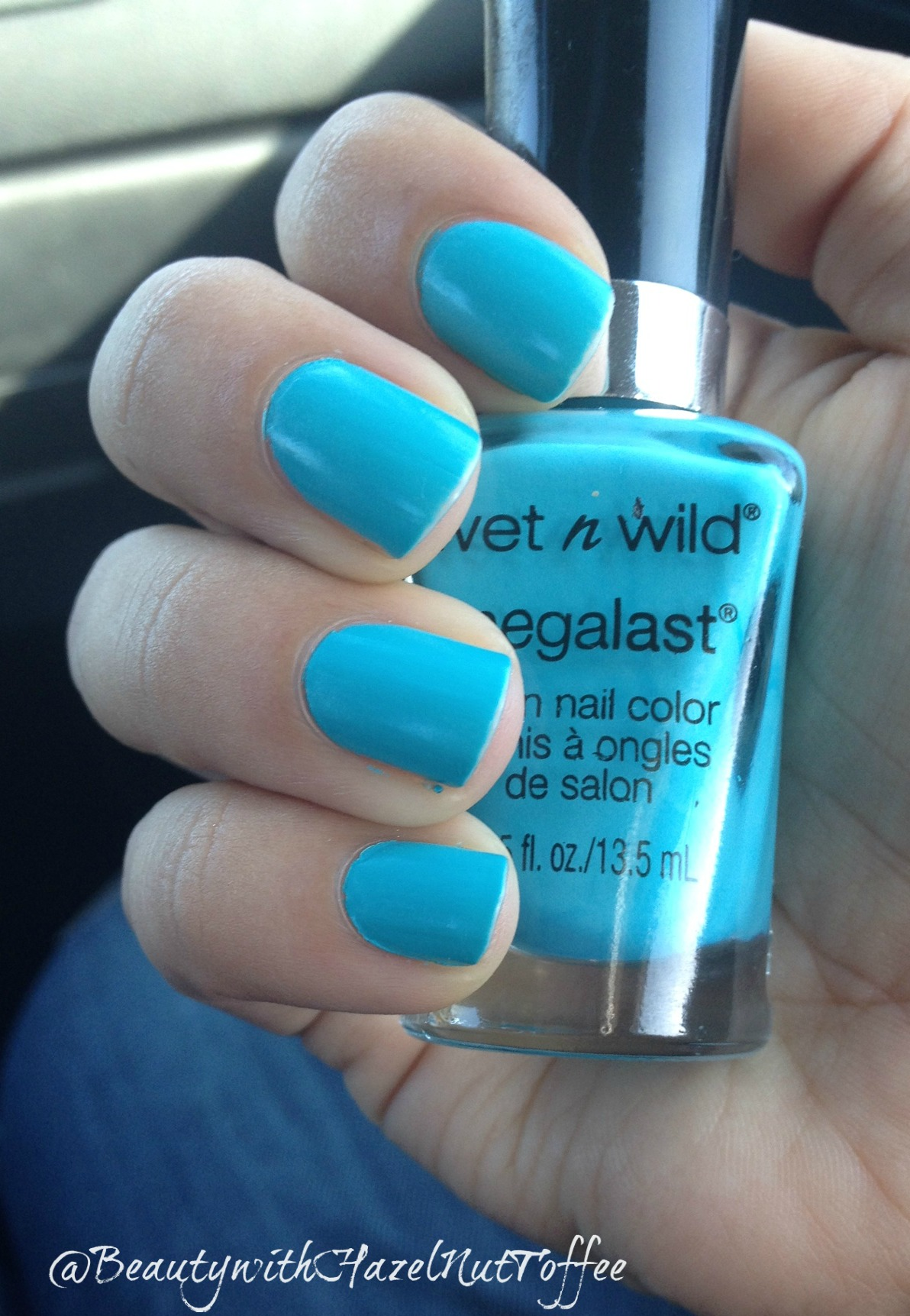 Wet N Wild Blooming Beauty Bites Megalast Salon Nail Color Candylicious I Need A Refresh Mint Wnw