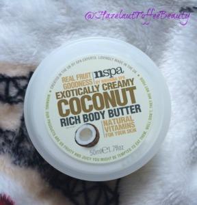 nspa coconut butter