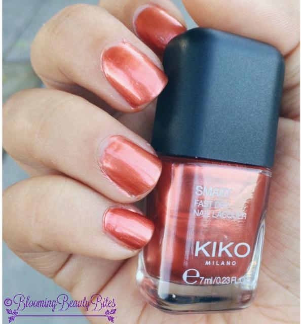 "Kiko Milano Smart Nail Lacquer ""38 Metallic Copper"" | Blooming ..."